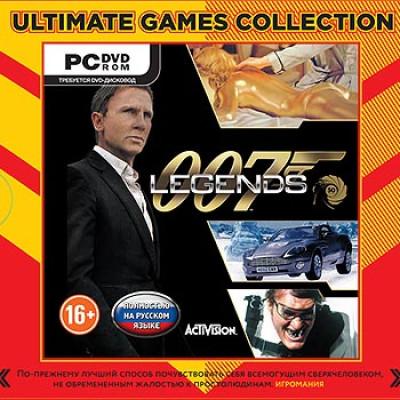 007 Legends (Ultimate Games) [PC, Jewel, русская версия]