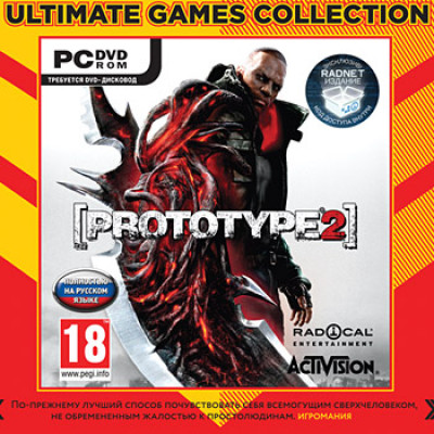 Prototype 2 (Ultimate Games) [PC, Jewel, русская версия]
