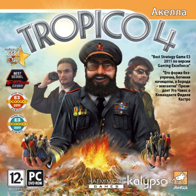 Tropico 4 [PC, Jewel, русская версия]