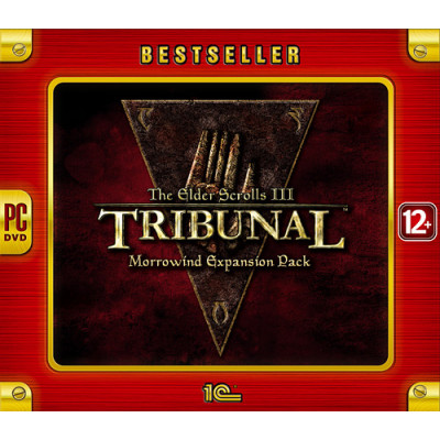 The Elder Scrolls III: Tribunal (Bestseller) [PC, Jewel, русская версия]