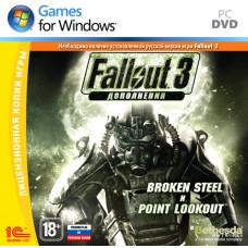 Fallout 3: дополнения Broken Steel и Point Lookout [PC, Jewel, русская версия]