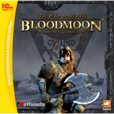 The Elder Scrolls III: Bloodmoon [PC, Jewel, русская версия]