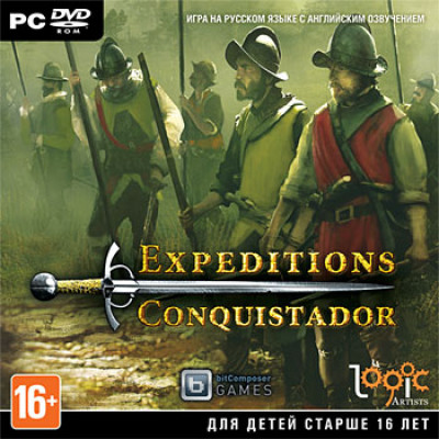 Expeditions: Conquistador [PC, Jewel, русские субтитры]