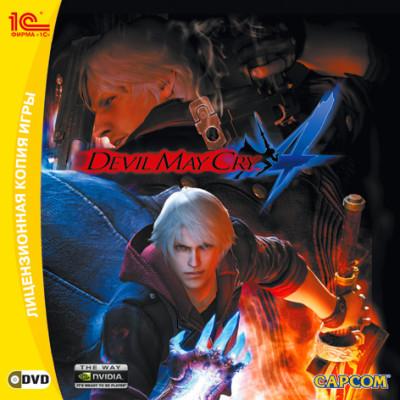 Devil May Cry 4 [PC, Jewel, русская версия]