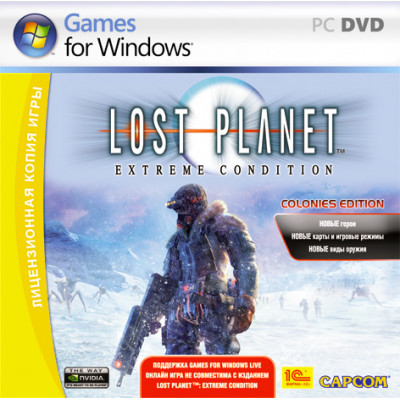 Lost Planet: Extreme Condition. Colonies Edition [PC, Jewel, русская версия]