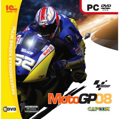 MotoGP 08 [PC, Jewel, русская версия]