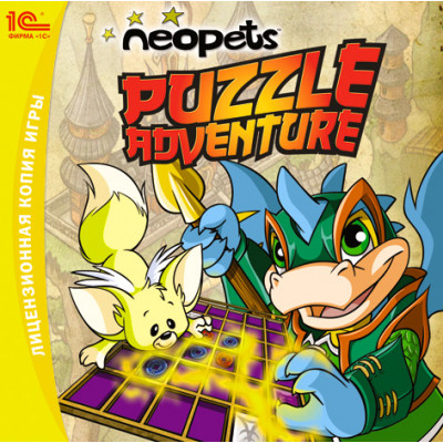 Neopets: Puzzle Adventure [PC, Jewel, русская версия]