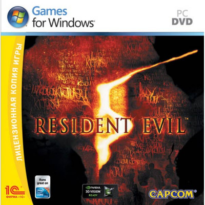 Resident Evil 5 [PC, Jewel, русская версия]