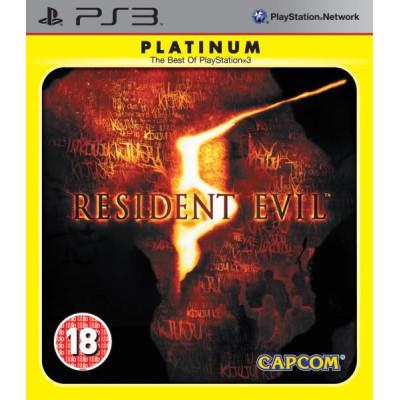 Resident Evil 5 (Platinum) [PS3, русская документация]