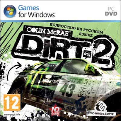 Colin McRae Dirt 2 [PC, Jewel, русская версия]