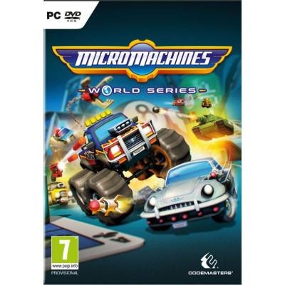 Micro Machines World Series [PC, английская версия]
