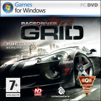 Race Driver: GRID [PC, Jewel, русская версия]