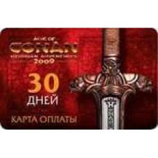 Age of Conan: Hyborian Adventures. Карта оплаты  (30 дней) [PC, Jewel, русская версия]