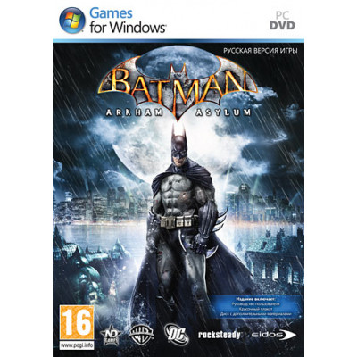 Batman: Arkham Asylum [PC, русская версия]