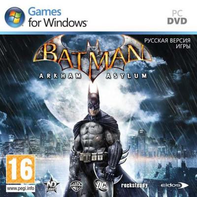 Batman: Arkham Asylum [PC, Jewel, русская версия]