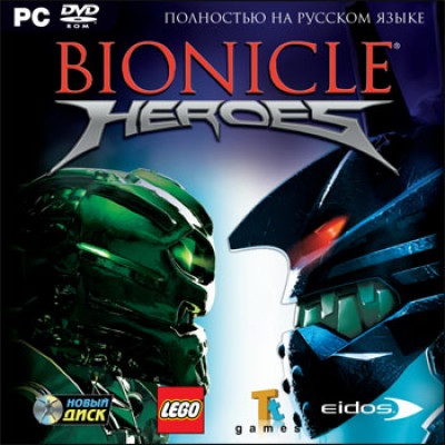 Bionicle Heroes [PC, Jewel, русская версия]