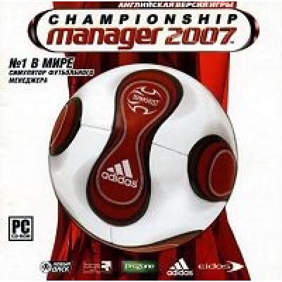 Championship Manager 2007 [PC, Jewel, русская документация]