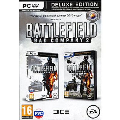 Battlefield: Bad Company 2. Deluxe Edition (BBC2 + BBC2 Vietnam) [PC, русская версия]