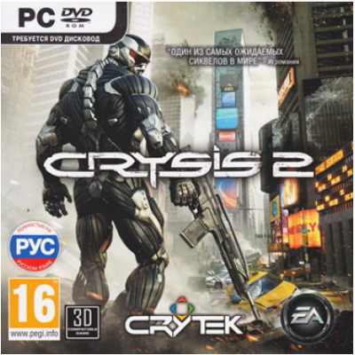 Crysis 2 [PC, Jewel, русская версия]