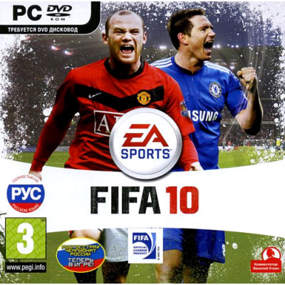 FIFA 10 [PC, Jewel, русская версия]