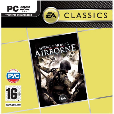 Medal of Honor: Airborne (Classics) [PC, Jewel, русская версия]