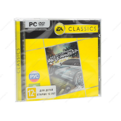 Need for Speed: Most Wanted (Classics) [PC, Jewel, русская версия]