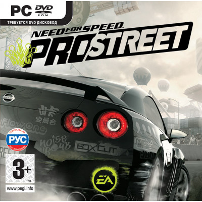 Need for Speed ProStreet (Classics) [PC, Jewel, русская версия]