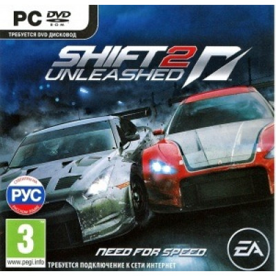 Need for Speed Shift 2 Unleashed [PC, Jewel, русская версия]