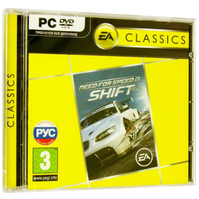 Need for Speed Shift (Classics) [PC, Jewel, русская версия]