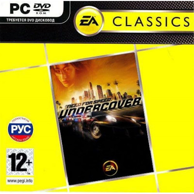 Need for Speed Undercover (Classics) [PC, Jewel, русская версия]