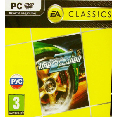 Need for Speed Underground 2 (Classics)  [PC, Jewel, русская версия]