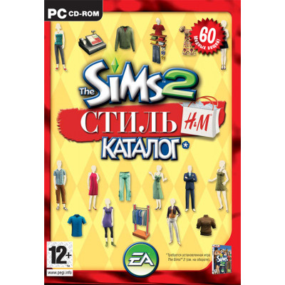 """Sims 2: Каталог """"Стиль H&M"""" [PC, русская версия]"""