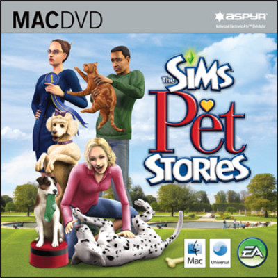 The Sims Pet Stories (версия для MAC) [PC, Jewel, английская версия]