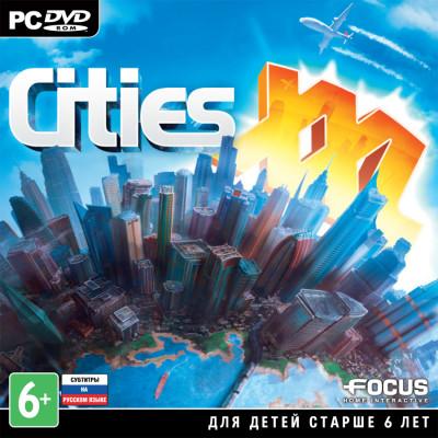 Cities XXL [PC, Jewel, русские субтитры]
