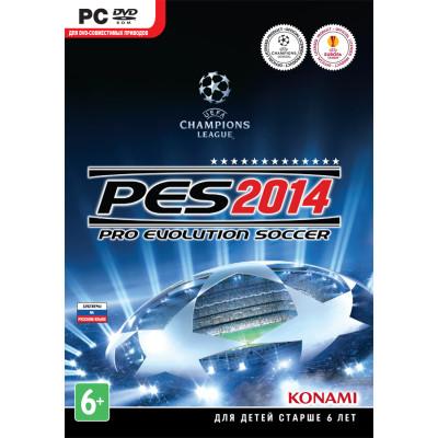 Игра для PC Pro Evolution Soccer 2014 (русские субтитры)