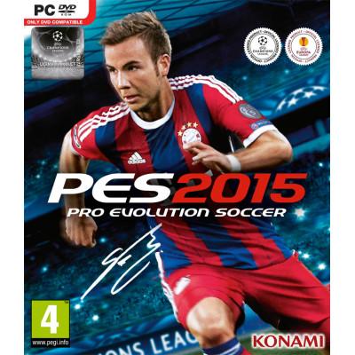 Игра для PC Pro Evolution Soccer 2015 (русские субтитры)