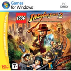 Lego Indiana Jones 2: Приключение продолжается [PC, Jewel, русская версия]