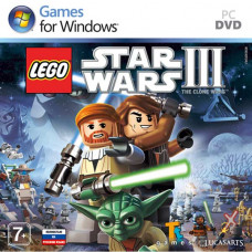 LEGO Star Wars III: the Clone Wars [PC, Jewel, русская версия]