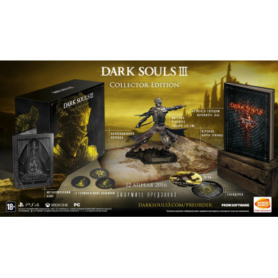Dark Souls III. Collector's Edition [PS4, русские субтитры]
