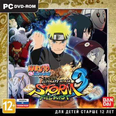 Naruto Shippuden: Ultimate Ninja Storm 3 Full Burst [PC, Jewel, русские субтитры]