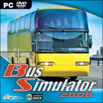 Bus Simulator 2008 [PC, Jewel, русская версия]