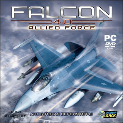 Falcon 4.0: Allied Force [PC, Jewel, русская документация]