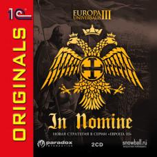 Europa Universalis III: In Nomine (1С:Snowball ORIGINALS) [PC, Jewel, английская версия]