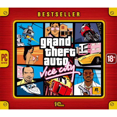 Grand Theft Auto Vice City (Bestseller) [PC, Jewel, русские субтитры]