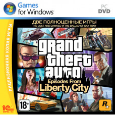Grand Theft Auto Episodes From Liberty City [PC, Jewel, русские субтитры]