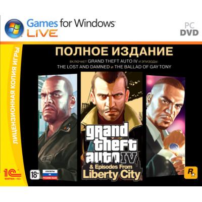 Grand Theft Auto IV. Полное издание [PC, Jewel, русские субтитры]