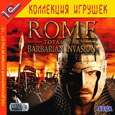 Rome: Total War - Barbarian Invasion (1С:Коллекция игрушек) [PC, Jewel, русская версия]