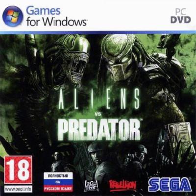 Aliens vs Predator [PC, Jewel, русская версия]
