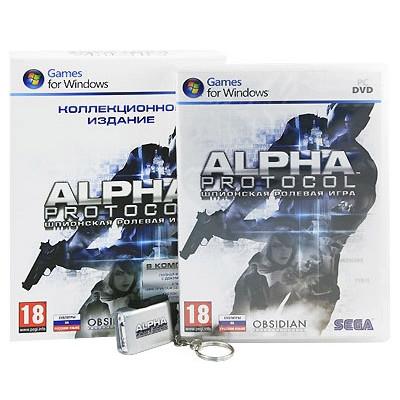 Alpha Protocol. Коллекционное издание [PC, русские субтитры]