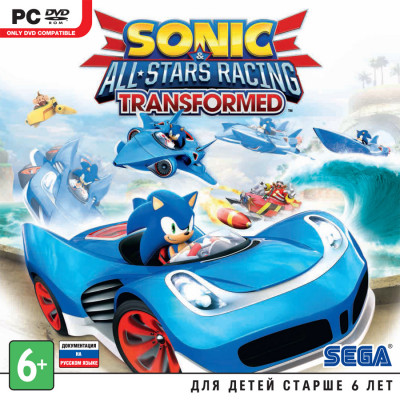 Sonic & All-Star Racing Transformed [PC, Jewel, русская документация]